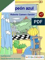 El_peon_azul