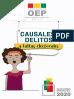 FALTAS Y DELITOS ELECTORALES