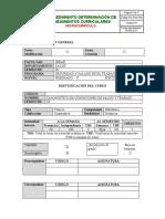 DIAGNOSTICOS DE CONDICIONES DE SALUD Y DE TRABAJO