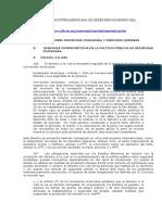 FUERZA-COMISION INTERAMERICANA DE DERECHOS HUAMNOS