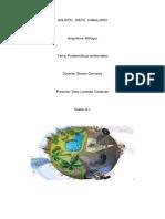 biologia  problemas ambientales