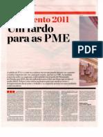 2010.10.21 DE - Orçamento 2011 - Um fardo para as PME