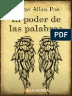El_poder_de_las_palabras-Allan_Poe_Edgar
