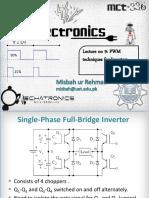 Lec9_PWM Inverter Techniques