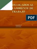 RIESGOS LIGADOS AL MEDIO AMBIENTE DE TRABAJO