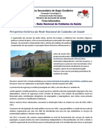 Ficha informativa - Prespetiva Histórica do SNS