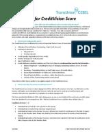 FAQ-CreditVision Score