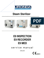 Euronda E9 Inspection, Recorder, Med Sterilizer - Service Manual