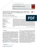J-Mol-Struct-2018-Experimental and computational approaches to the analysis of the molecular structure of
