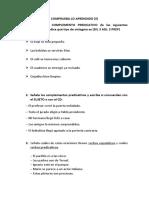 COMPRUEBA LO APRENDIDO II
