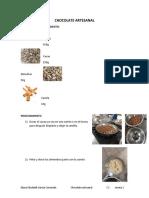 CHOCOLATE ARTESANAL CLASE 1