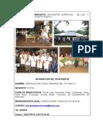 012 - PP - ENCUENTRO  ESPIRITUAL DE LOS PUEBLOS 2019