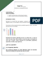 Guía de aprendizaje 2° Estadística