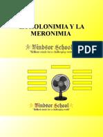 LA HOLONIMIA Y LA MERONIMIA
