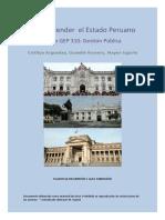 Para entender el Estado peruano (Arguedas, Romero y Ugarte, 2016)