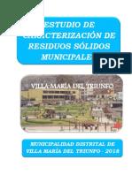ESTUDIO DE CARACTERIZACION DE RR SS 2018 - VMT