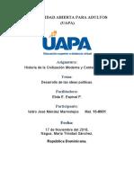 Tarea 3 Desarrollo de las ideas politicas.docx