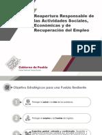 Reapertura Responsable de las Actividades Sociales, Económicas y de Recuperación del Empleo
