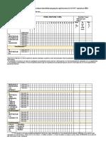 tabel generalizator