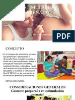 1 Clase Estimulacion prenatal