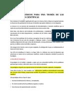4. ELEMENTOS BÁSICOS PARA UNA TEORÍA DE LAS REVOLUCIONES CIENTÍFICAS