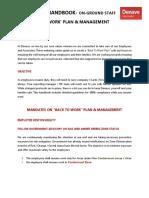 Employee Handbook - Back To Work (On Ground Staff)