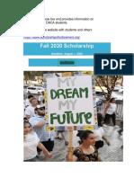 Scholarships for Dreamers
