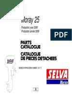Moray 25 Parts Catalogue 2008