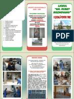 GRR - Oferta Educationala Invatamant Profesional 2020-2021