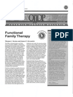 Department of Justice Family Therapy Study