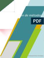 PRIEMERA ENTREGA ORGANIZACION Y METODOS
