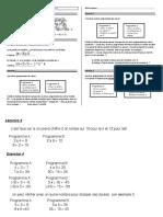 FICHE ACTIVITE CALCUL LITTERAL Niv3