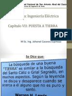 CAP 7 - SISTEMAS DE PUESTA A TIERRA