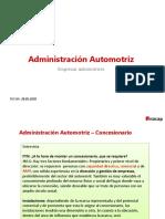 Administración Automotriz - Empresas Automotrices