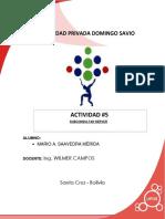 Actividad 5 - SQL