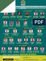 Cartel de Los Mas Buscados Por Homicidios a Personas en Reincorporacion Farc 29-05-2020 (1)
