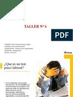 Taller n° 6 Gabriel Marinao