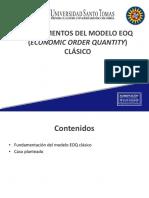 2d. Fundamentos del modelo EOQ clásico