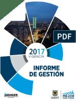 3. Informe de Gestión 2017 IDIGER
