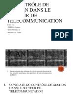 Controle de Gestion Dans Le Secteur de Télécommunication - Copie - Copie