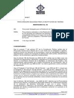 Memorando No.  08-2020 -  Procesos Restitución Ètnicos