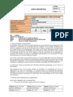 Carta descriptiva 1- 2020
