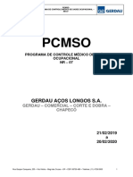 2019 PCMSO 00 REV - GERDAU COMERCIAL CORTE E DOBRA - CHAPECO