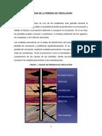 CAUSAS DE LA PÉRDIDA DE CIRCULACIÓN