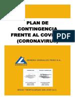 PLAN DE CONTINGENCIA CONTRA EL COVID-19 SAN JOSÉ