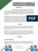 PLAN DE EMERGENCIAS Y CONTINGENCIAS (SUEÑOS DEL MAÑANA) 2020