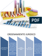 CRECIMIENTO DEL GASTO PÚBLICO