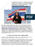 Tammy Duckworth Born in Thailand - Not a Natural Born Citizen - Not Constitutionally Eligible for VP or President