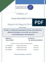 Rapport de SFE ocp phosbocraa