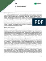 Socrates e Teoria das Ideiais de Platão.pdf